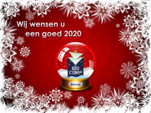 Team BioComp wenst u een goed 2020